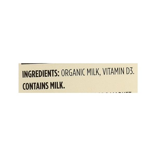 Organic Grade A Milk, Whole, 64 fl oz 12