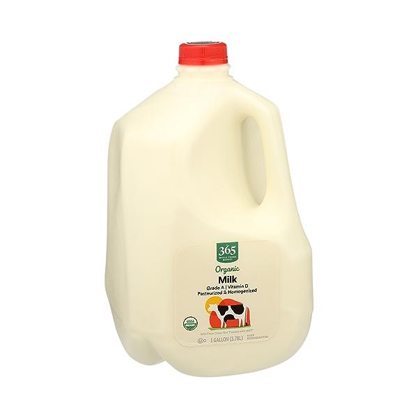 Organic Grade A Milk, Whole, 1 gallon 2