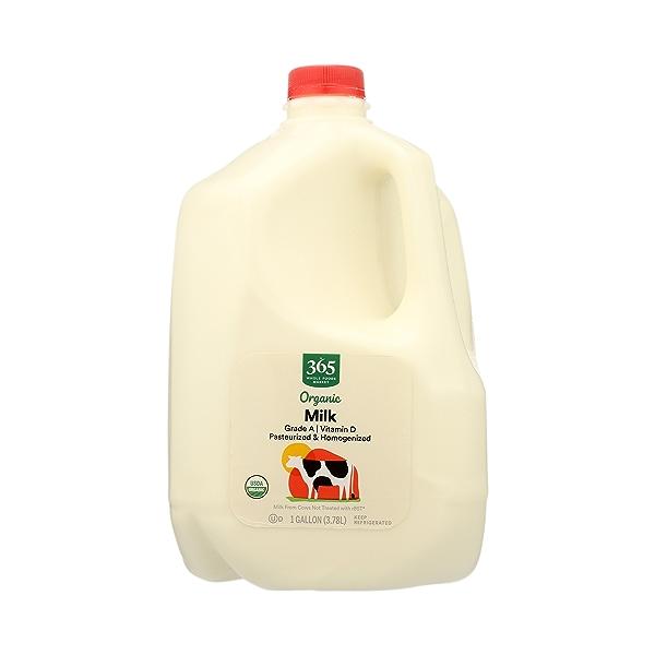 Organic Grade A Milk, Whole, 1 gallon 3