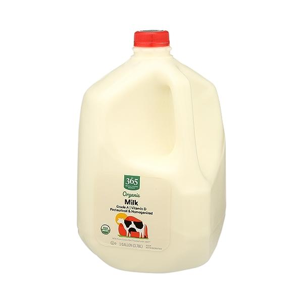 Organic Grade A Milk, Whole, 1 gallon 4