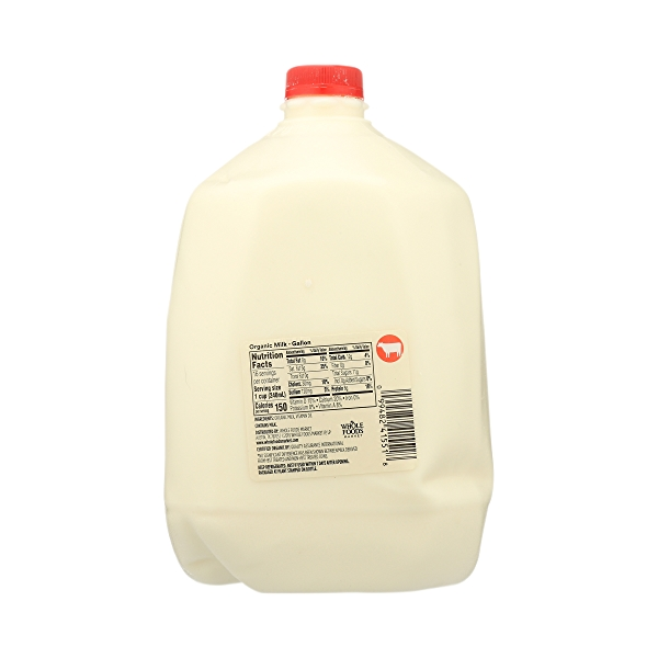 Organic Grade A Milk, Whole, 1 gallon 7
