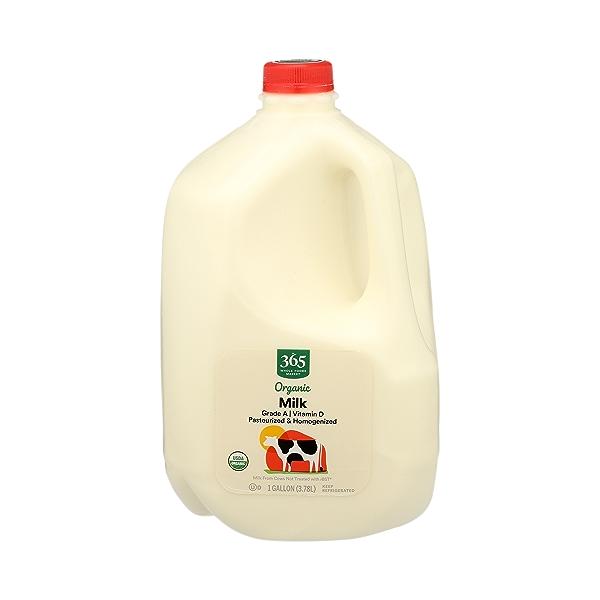 Organic Grade A Milk, Whole, 1 gallon 1