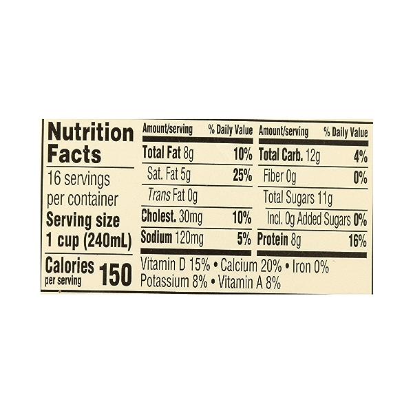 Organic Grade A Milk, Whole, 1 gallon 10