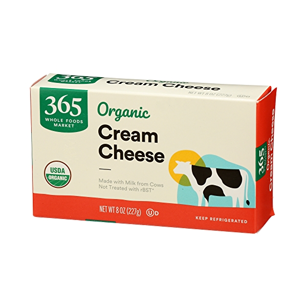Organic Cream Cheese, 8 oz 4