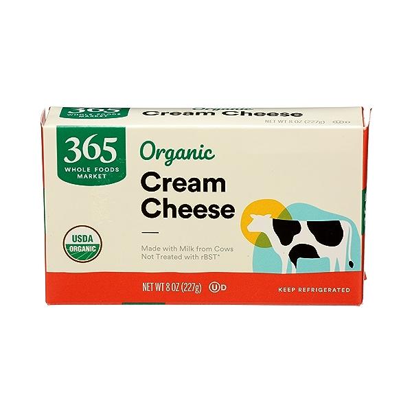 Organic Cream Cheese, 8 oz 1