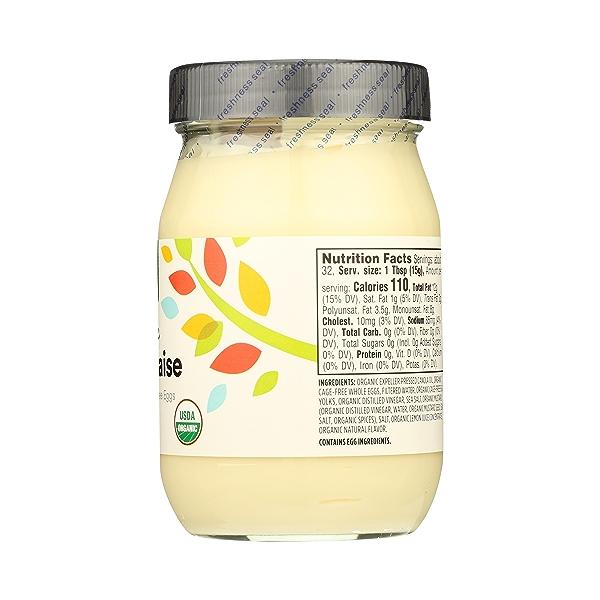 Organic Mayonnaise, 16 fl oz 8