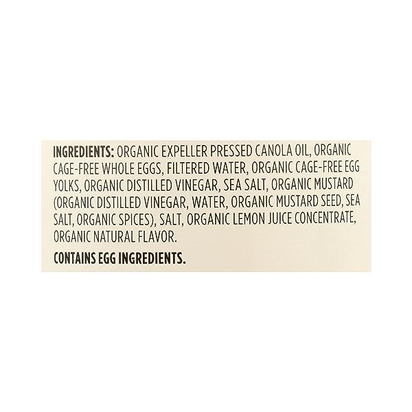 Organic Mayonnaise, 16 fl oz 12