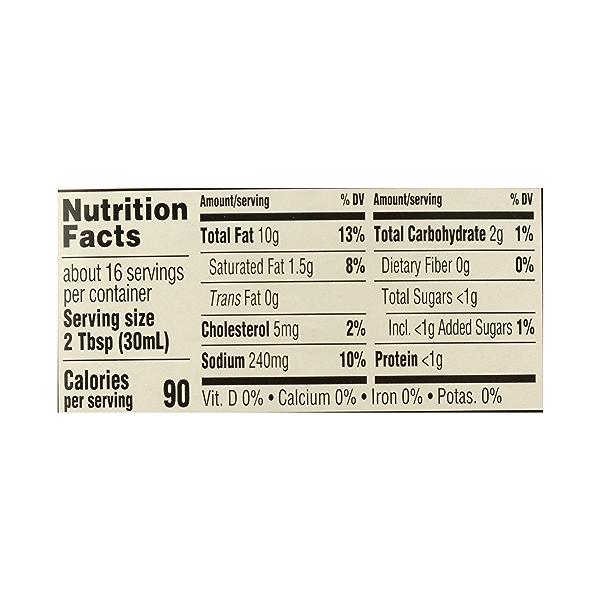 Organic Salad Dressing, Ranch, 16 fl oz 10