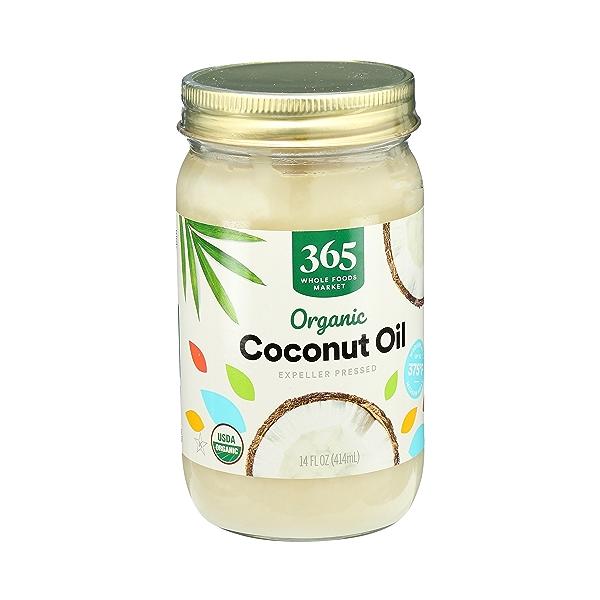 Organic Coconut Oil - Expeller Expressed, 14 fl oz 2