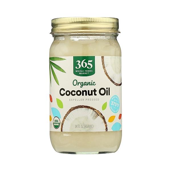 Organic Coconut Oil - Expeller Expressed, 14 fl oz 3