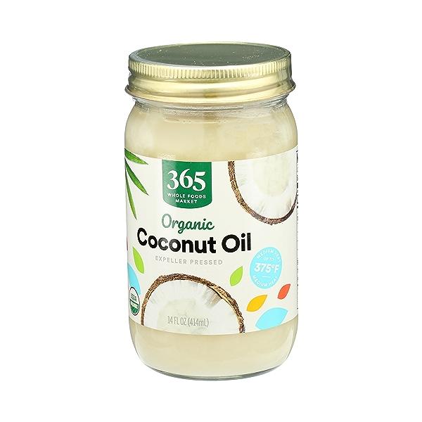 Organic Coconut Oil - Expeller Expressed, 14 fl oz 4