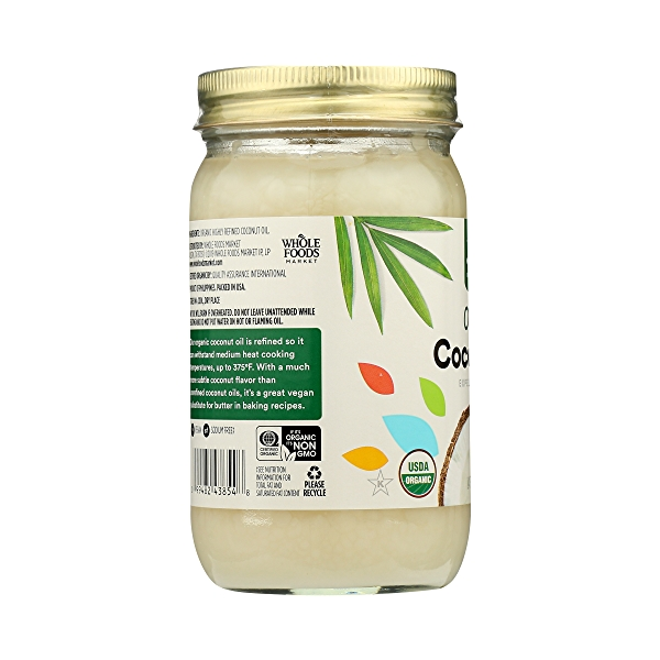 Organic Coconut Oil - Expeller Expressed, 14 fl oz 5