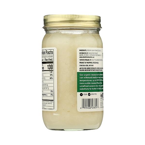 Organic Coconut Oil - Expeller Expressed, 14 fl oz 7