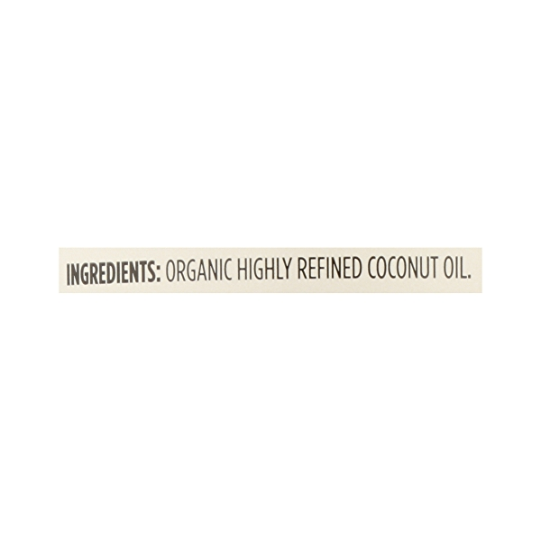 Organic Coconut Oil - Expeller Expressed, 14 fl oz 12