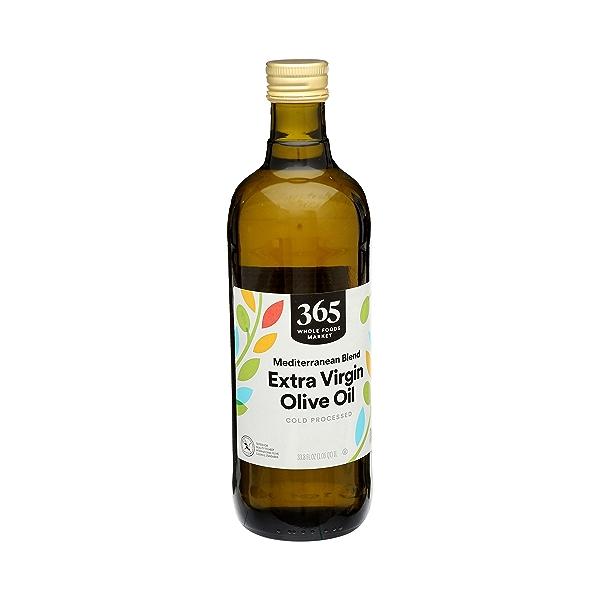 Extra Virgin Olive Oil - Cold Processed, Mediterranean Blend, 33.8 fl oz 2