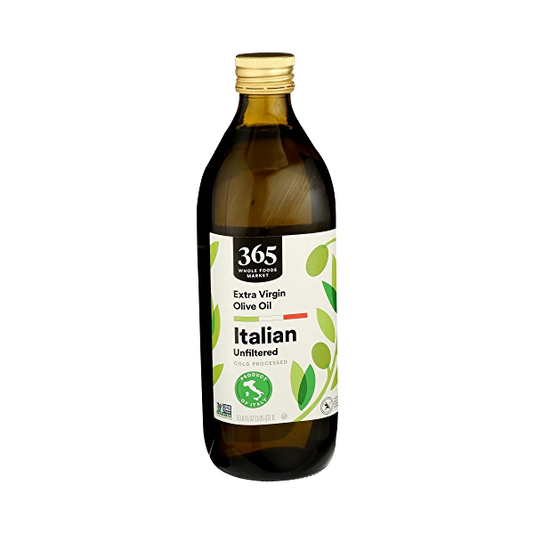 Extra Virgin Olive Oil - Cold Processed, Italian Unfiltered, 33.8 fl oz 2