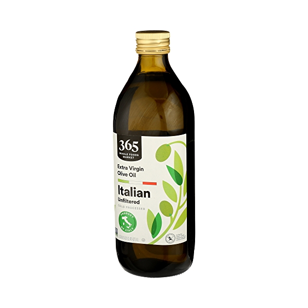 Extra Virgin Olive Oil - Cold Processed, Italian Unfiltered, 33.8 fl oz 4