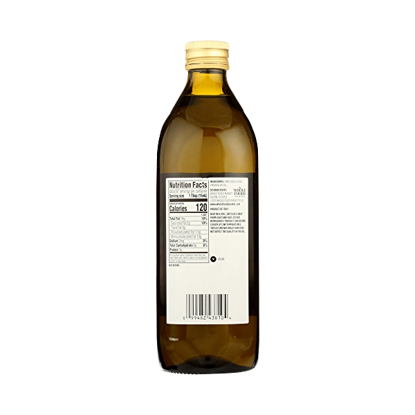 Extra Virgin Olive Oil - Cold Processed, Italian Unfiltered, 33.8 fl oz 7