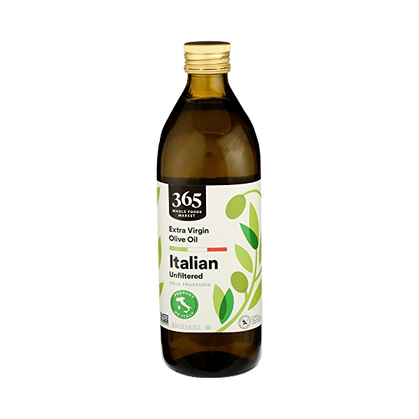 Extra Virgin Olive Oil - Cold Processed, Italian Unfiltered, 33.8 fl oz 1
