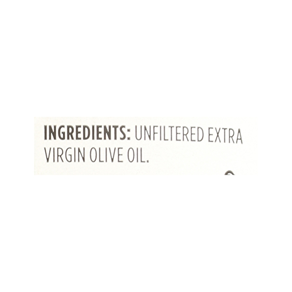 Extra Virgin Olive Oil - Cold Processed, Italian Unfiltered, 33.8 fl oz 12