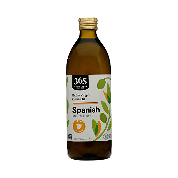 Extra Virgin Olive Oil - Cold Processed, Spanish, 33.8 fl oz 3