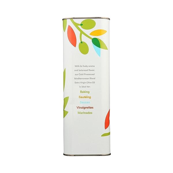 Extra Virgin Olive Oil - Cold Processed, Mediterranean Blend, 101.4 fl oz 5