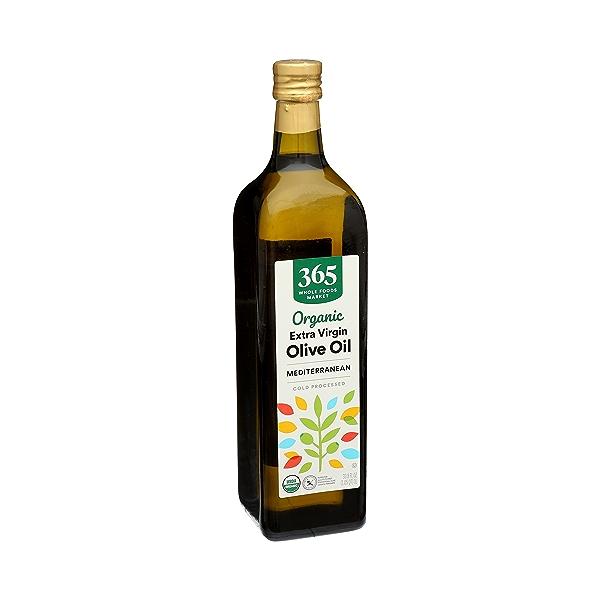 Organic Extra Virgin Olive Oil - Cold Processed, Mediterranean, 33.8 fl oz 2