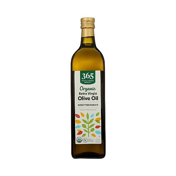 Organic Extra Virgin Olive Oil - Cold Processed, Mediterranean, 33.8 fl oz 3