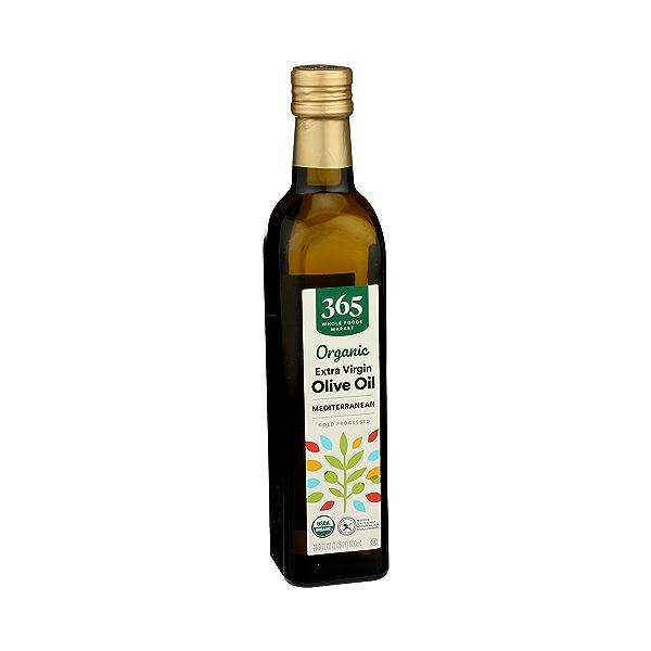 Organic Extra Virgin Olive Oil - Cold Processed, Mediterranean, 16.9 fl oz 2