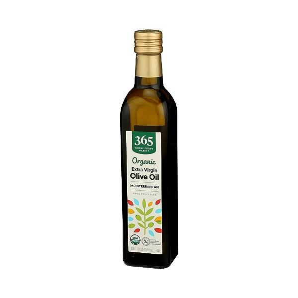 Organic Extra Virgin Olive Oil - Cold Processed, Mediterranean, 16.9 fl oz 4