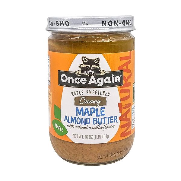Maple Vanilla Almond Butter 1