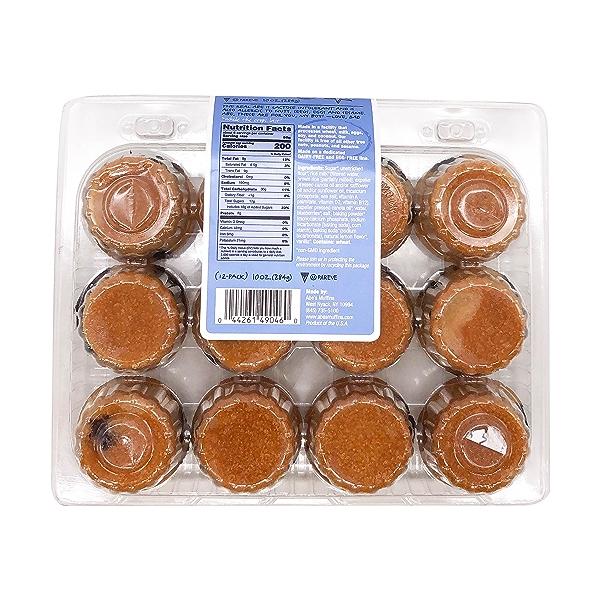 Abe's Muffins Vegan Wild Blueberry Smash Mini-muffins (6 Pk), 10 oz 2