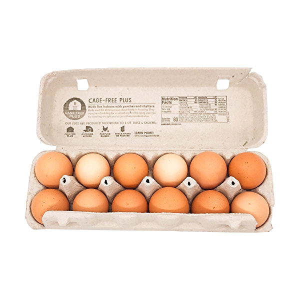 Organic Extra Large Brown Eggs 2