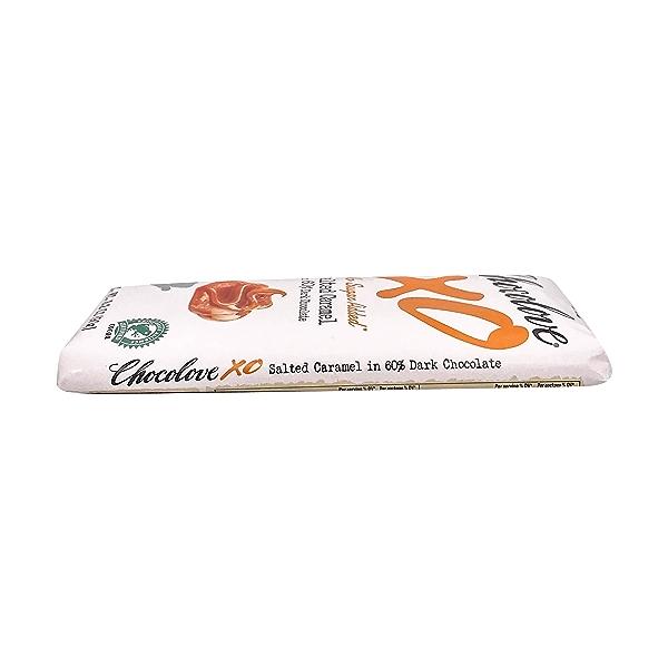 Salted Caramel Dark Chocolate Bar, 3.2 oz 3