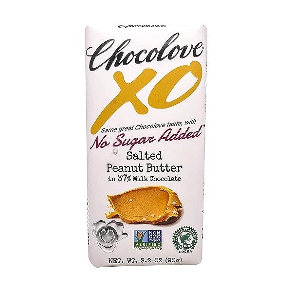 Salted Peanut Butter Milk Chocolate Bar, 3.2 oz 1