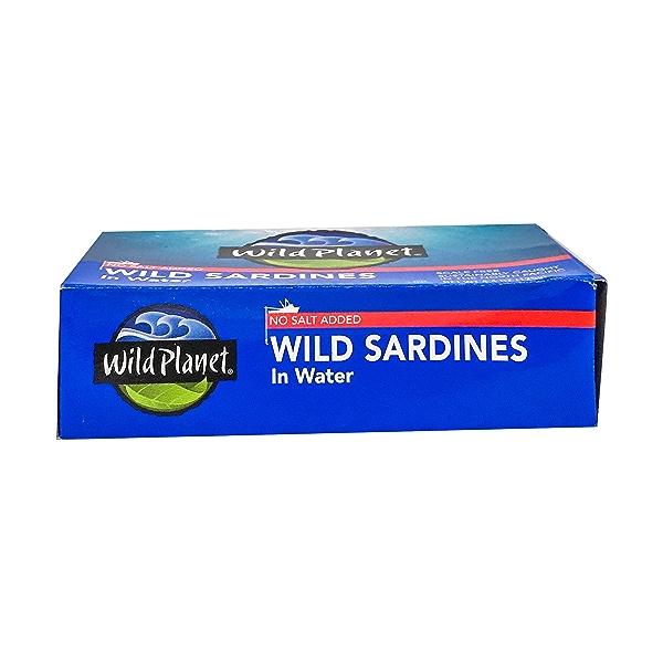 Wild Sardines in Water No Salt 5