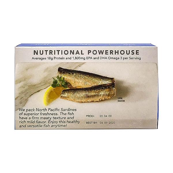 Wild Sardines in Water No Salt 3