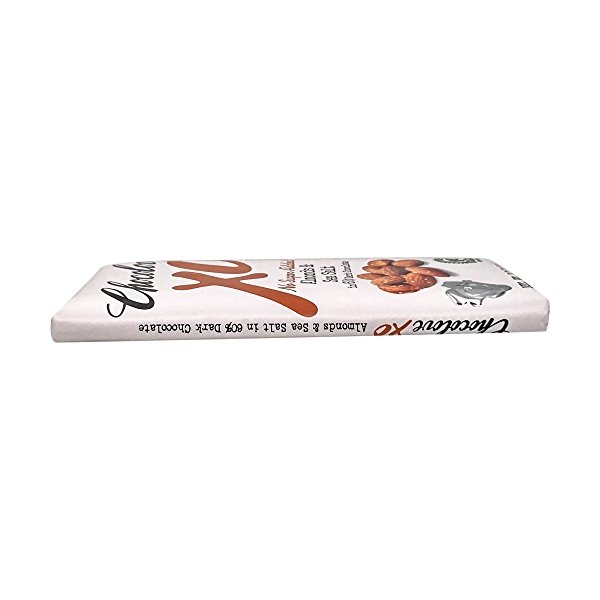 Almond And Sea Salt Dark Chocolate Bar, 3.2 oz 4
