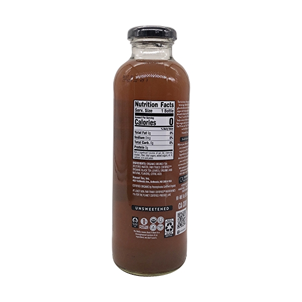 Organic Just Black Tea, 16 fl oz 2