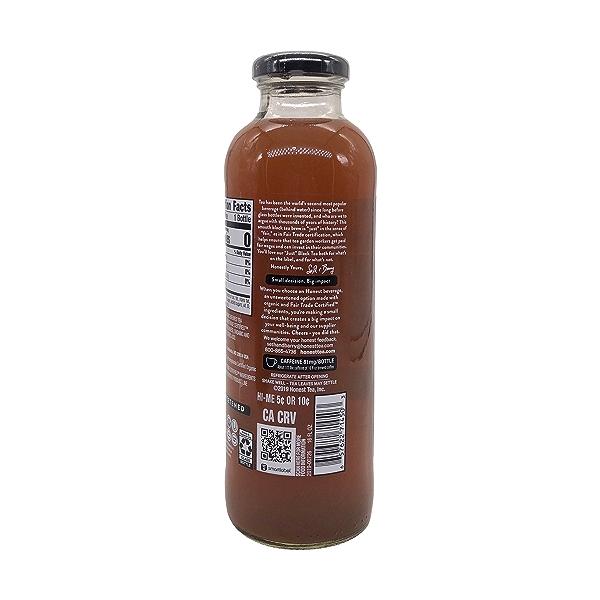 Organic Just Black Tea, 16 fl oz 3