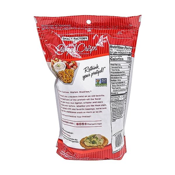 Everything Deli Style Pretzel Crisps®, 7.2 oz 3