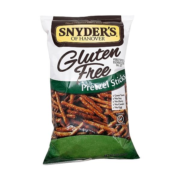 Gluten Free Pretzel Sticks, 8 oz 1