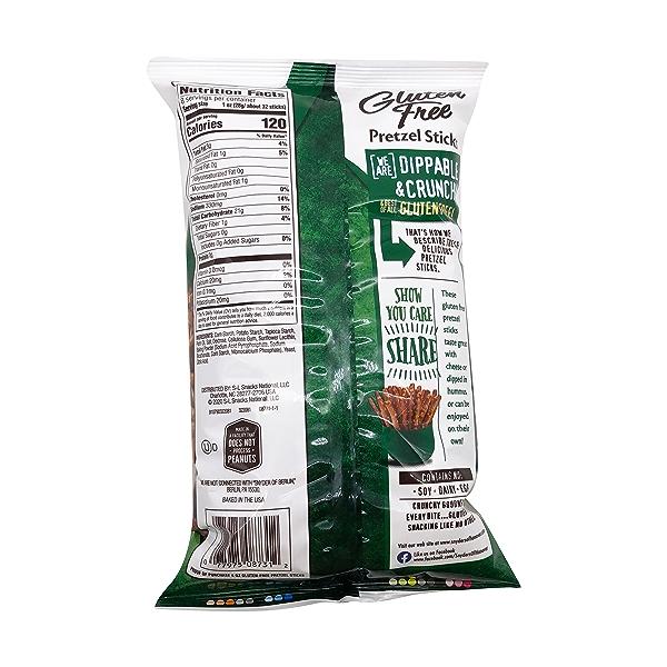 Gluten Free Pretzel Sticks, 8 oz 2