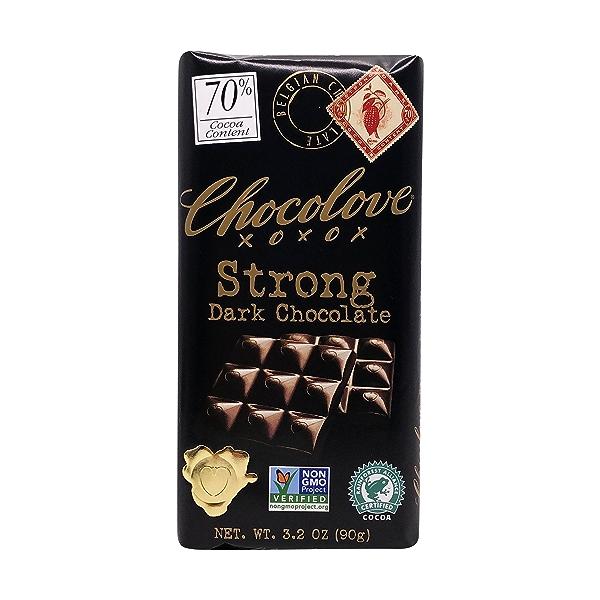 70% Strong Dark Chocolate, 3.2 oz 1