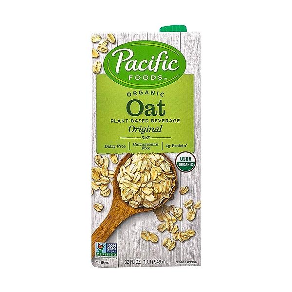Pacific Natural Foods Organic Original Oat Beverage, 32 fl oz 1