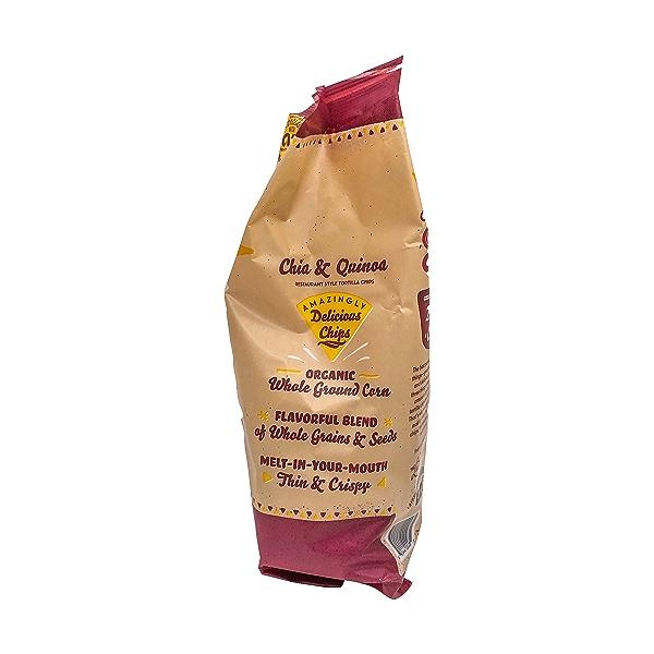 Chia & Quinoa Tortilla Chips, 11 oz 4