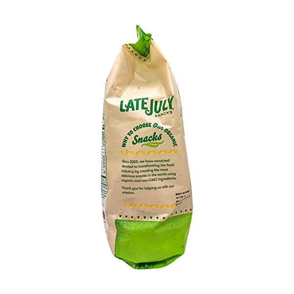 Organic Sea Salt & Lime Tortilla Chips, 11 oz 3