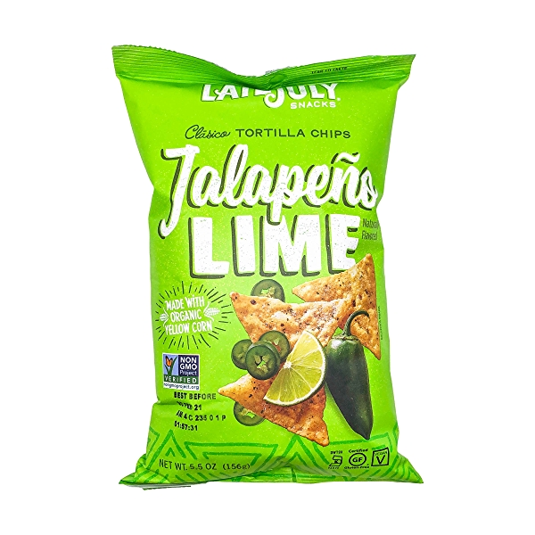 Jalapeno Lime Tortilla Chips, 5.5 oz 1