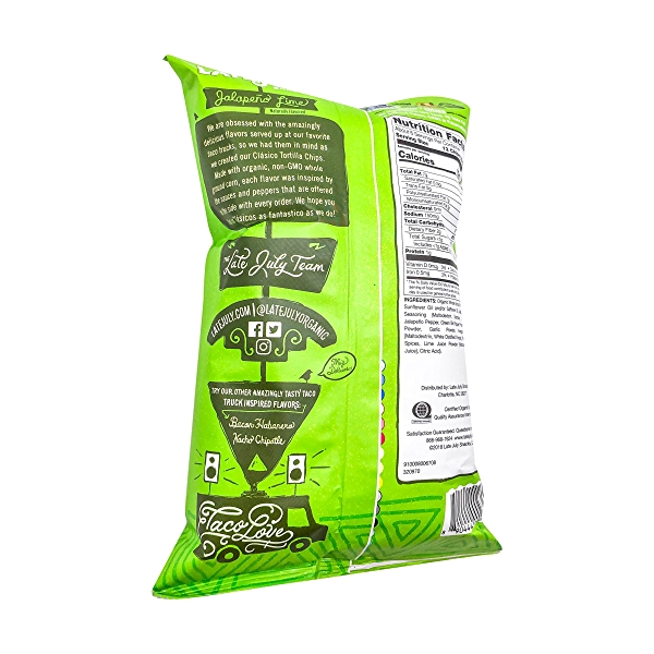 Jalapeno Lime Tortilla Chips, 5.5 oz 4