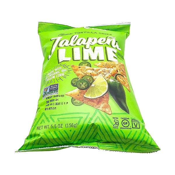 Jalapeno Lime Tortilla Chips, 5.5 oz 5